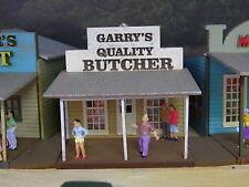 Ho scale building kit Butchers shop