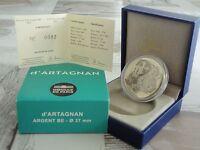 10 euro BE France 2012 argent - D'ARTAGNAN RARE  !!!!