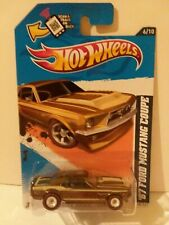 Hot Wheels 2012 Super Treasure Hunt '67 Ford Mustang Coupe Real Riders NICE
