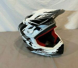 Fly Racing Full Face Motocross Helmet Youth Size Large w/Visor Fast Shipping