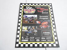 #Misc-2745 vintage Car Racing Program - 1999 Norther Sprint Tour Series