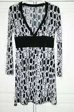 Mesdames m/&s Collection limitée Taille 18 viscose robe à manches longues bnwt