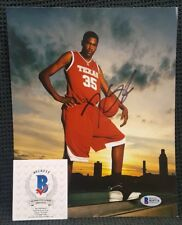 KEVIN DURANT Autographed Texas Longhorns, Warriors 8x10 Photo. BECKETT
