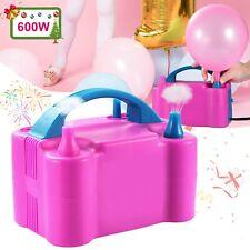 110V Portable Electric Balloon Pump Air Blower Balloon Inflator Party Wedding US