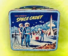 Tom Corbett Space Cadet (1954) Vintage Lunchbox Free Shipping