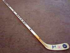 MICHAEL GRABNER New York Rangers SIGNED Hockey Stick COA 2018 Winter Classic X