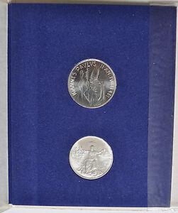1983-84 Vatican City Anno Santo Coin Set - Unc