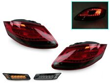 05-08 Porsche Boxster/Cayman 987 LED Red/Smoke Tail Lights + LED Side Markers