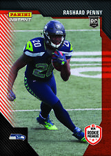 2018 Panini Instant RPS First Look Rashaad Penny RC Rookie Premiere Photo Shoot