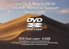 macOS X Mojave 10.14 - ONLINE Technical Support - Bonus DVD DL