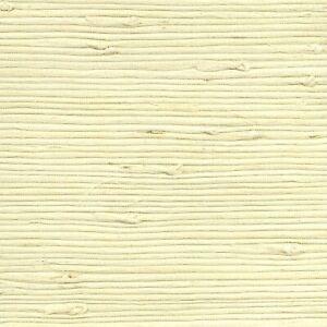 2732-65651 Brewster Cebu Cream off white beige natural Grasscloth Wallpaper roll