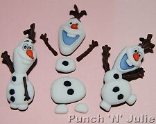 DISNEY congelato Olaf-Pupazzo di Neve Inverno Neve Natale Dress IT UP Pulsanti Craft