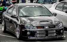 Neon SRT-4 Front Lip Splitter (APR Support Rods Not Included) Easy Install