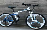 "BIKE 21 SPEED 26"" WHEEL MTB ALUMINUM FRAME FULL F/R SUSPENSION MOUNTAIN BICYCLE"