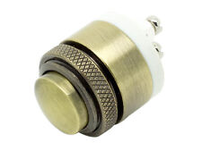 "Doorbell Push Button Momentary Metal Switch 16mm (5/8"")"