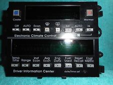 SHIPS SAME DAY! GM 16125346 Climate Control Module & Driver Information Center