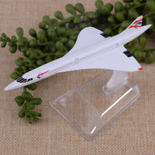 Concorde G-BOAC 1:400 Scale Diecast Aeroplane Aircraft Airplane Plane Metal
