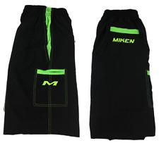 Miken Microfiber Shorts BLACK/NEON GREEN/VOLT 2XL