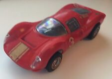VINTAGE TRIANG SCALEXTRIC FERRARI P4 C16 RED #3 - WORKING MOTOR
