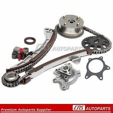 Toyota Prius Yaris Echo Scion 1.5L 1NZ-FE Timing Chain Kit+VVT-i Gear+Water Pump