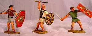 CONTE COLLECTIBLES PEWTER #1 ROMAN EMPIRE SPARTACUS SPA022 SLAVES ATTACKING MIB
