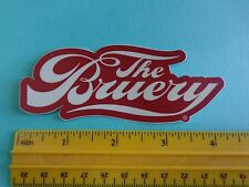 BEER STICKER ~*~ The BRUERY ~ Award Winning Orange County, CALIFORNIA Breweriana