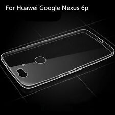 Ultra Thin Soft TPU Gel Clear Crystal Back Case Cover For Huawei Google Nexus 6P