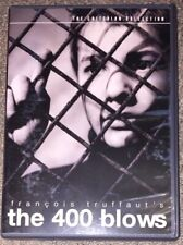 The 400 Blows Dvd (1959) Criterion Collection Spine #5 - Francois Truffaut