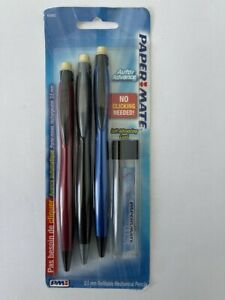 PaperMate 64092 Auto Advancer Mechanical Pencil with 12 Leads HB
