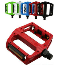 One Pair Mountain Road Bike Bicycle Aluminum Alloy Platform Bearing Pedals 9/16""