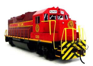 HO Scale Model Railroad Trains Layout Belt Line GP-38-2 DCC Equipped Locomotive