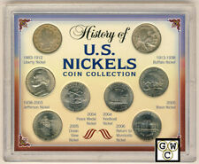 USA history of U.S. Nickles Coin Collection Set (OOAK)