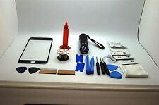 iPhone 7 Plus Noir Kit de Réparation Écran Avant, Fil, Colle, Torche UV, Outils