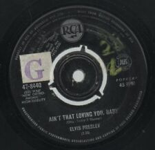 "ELVIS PRESLEY   Rare 1964 Aust Promo Only 7"" Single ""Ain't That Loving You Baby"""