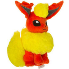 Official Tomy Pokemon Flareon Stuffed Plush Doll  Eeveelution Series Cute Gift