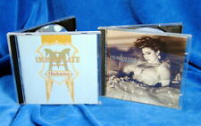 Two CD Madonna Bundle  / Like A Virgin (Japan) The Immaculate Collection (USA)