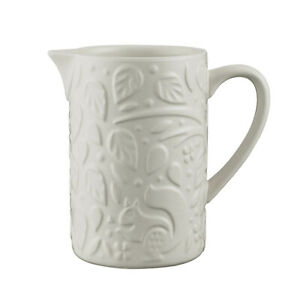 Mason Cash In the Forest Small 170ml Stoneware Creamer Jug Forest Leaves Design