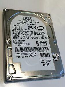 IBM IC25T060ATCS05-0 60GB 2.5 INCH 12.5MM HARD DISC DRIVE 07N9505        aa4cc13