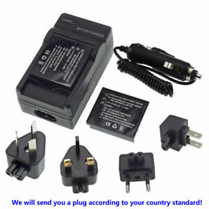 2X Battery + Charger for Ricoh DB-60, DB-65 Ricoh WG-M1 Action Digital Camera