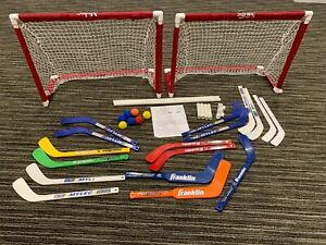 Mylec JR. Deluxe Mini Goal Set. 30.5 inches wide by 23 inches tall