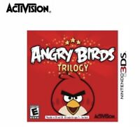 •Angry Birds Trilogy New Unopened Game Exclusive Content (Nintendo 3DS,2012)3D•