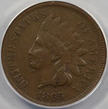 1865 1C Fancy 5 Indian Cent VF 30