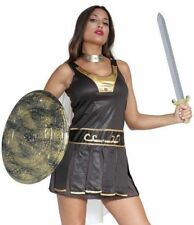Gladiator Spartan Roman Warrior Fancy Dress Costume