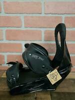 Burton Citizen Black Snowboard Bindings Women's Sz L
