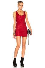 RTA FIFI Rouge à lèvres cuir rouge dress US 0 UK 6