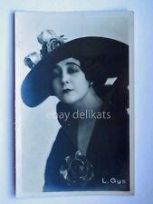 Cinema LEDA GYS Giselda Lombardi attrice muto silent movie foto Vettori Bo 303