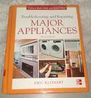 Troubleshooting and Repairing Major Appliances Kleinert HARDCOVER Repair Book  photo