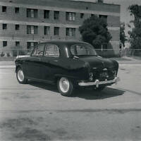 Austin A-50 1956 OLD CAR ROAD TEST PHOTO 4