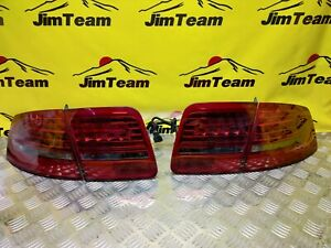 Audi A8 S8 D3 4E original  facelift taillights LED rear lights 02-10