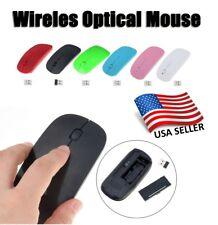2.4G USB Mini Wireless RF Cordless Optical Mouse Mice For Laptop PC Macbook USA